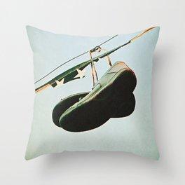 Problem U.S.A. Throw Pillow