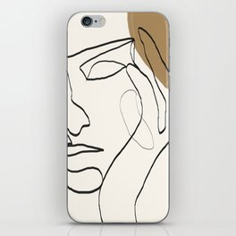 Abstract Face iPhone Skin