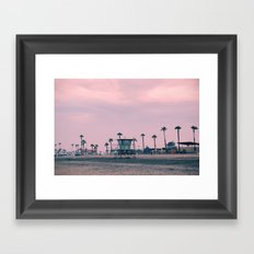 Oceanside, California Framed Art Print