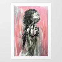 doll Art Prints featuring doll by olya tra