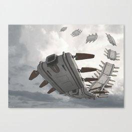 Tapeworm Canvas Print