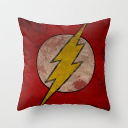 Remember The Flash Throw Pillow