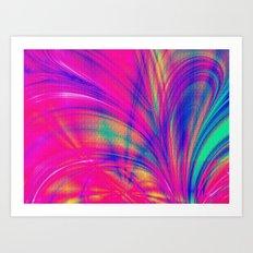 Splash. Art Print
