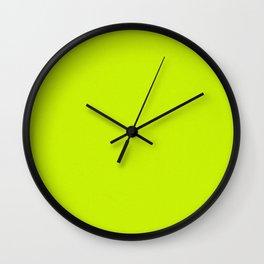 Neon Is King Wall Clock