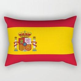 Flag of spain-spain,flag,flag of spain,espana,spanish,espanol,Castellano,Madrid,Barcelona, Rectangular Pillow
