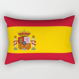 Flag of spain-spain,flag,flag of spain,espana,spanish,espanol,Castellano,Madrid,Barcelona, Rectangular Pillow