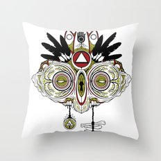 Death Mask 2 Throw Pillow