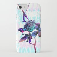 birdy iPhone & iPod Cases featuring Birdy by Cata