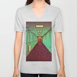 Green Corridor Unisex V-Neck