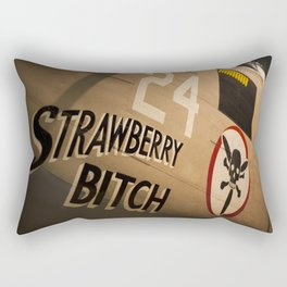 Strawberry B*tch Rectangular Pillow