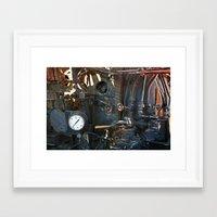 steam punk Framed Art Prints featuring Steam Punk by Clipper and Nana Carrillo