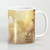 woodland Mugs featuring Woodland by Foya
