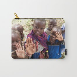 Maasai Wave Carry-All Pouch
