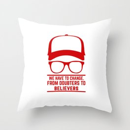 Jurgen Klopp YNWA Liverpool | the normal one|  Liverpool soccer team tshirt (liverpool apparel) Throw Pillow