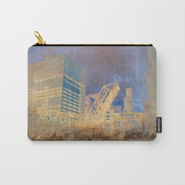 Drawbridge Chicago River City Skyline Carry-All Pouch