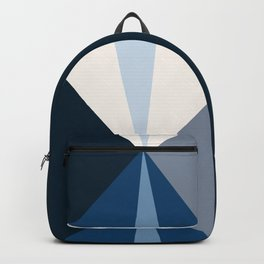 Tetrachromatic in blue Backpack