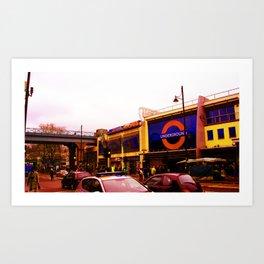 Brixton Station Art Print