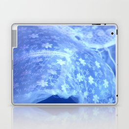 blue moon (#5 in a series: ghost in the swimming pool) Laptop & iPad Skin
