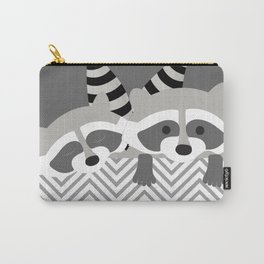 Raccoons Carry-All Pouch