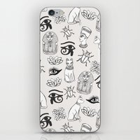 egyptian iPhone & iPod Skins featuring Egyptian by Abby Galloway