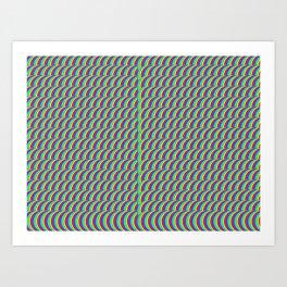 get cracy  (A7 B0003) Art Print