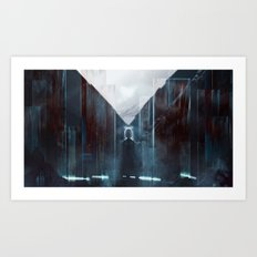 Touch the flame Art Print