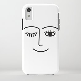 Wink iPhone Case