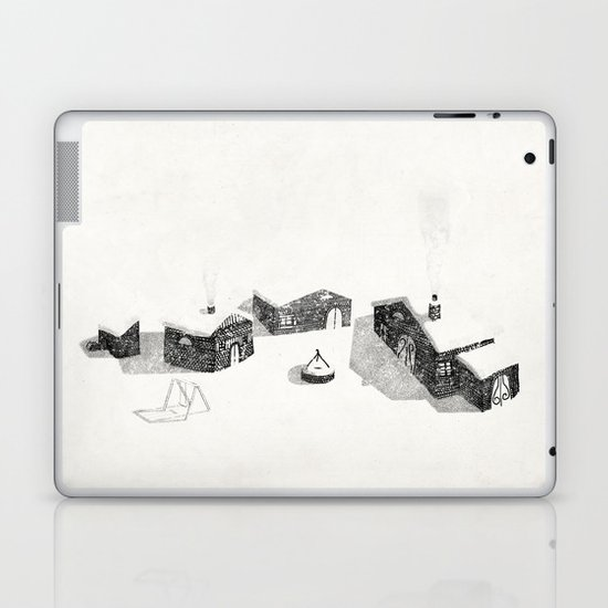 Le Village Laptop & iPad Skin