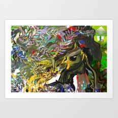 Bird's Nest - detail A Art Print