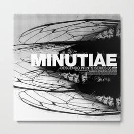 MINUTIAE / 00 Metal Print