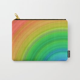 Bright Rainbow | Abstract gradient pattern Carry-All Pouch