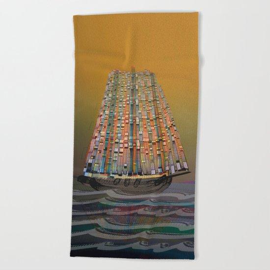 Atlante 14•5•16 Beach Towel