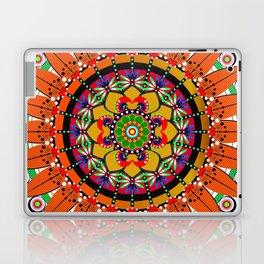 Mandala Sunflower Laptop & iPad Skin