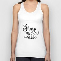 marble Tank Tops featuring Marble by melonweed