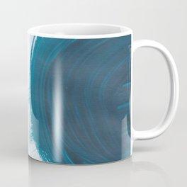 Fire ball, Abstract, Blue Duck Coffee Mug