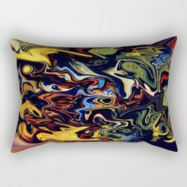 Life Comes Alive Rectangular Pillow
