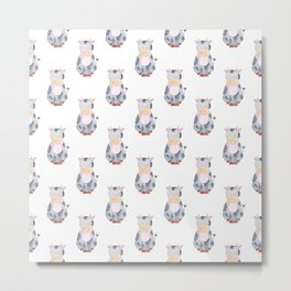 Cow Pattern Metal Print