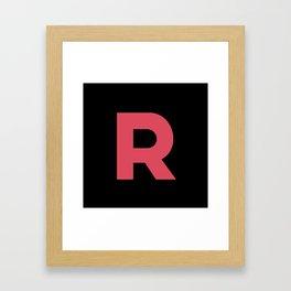 Rocket Grunt Framed Art Print