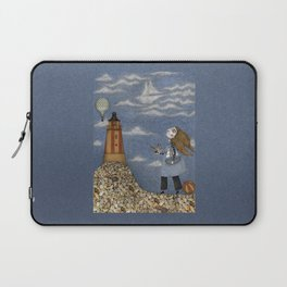 Ship in the Sky Laptop Sleeve