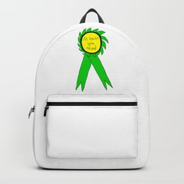 At Least You Tried Award Ribbon Backpack