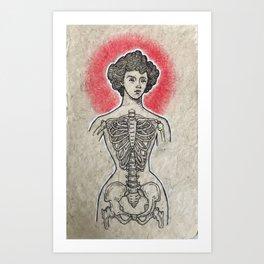 Tightlace Art Print