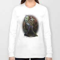 zombie Long Sleeve T-shirts featuring ZOMBIE! by Billy Allison