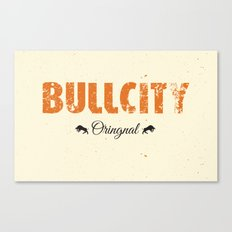 Bull City Canvas Print