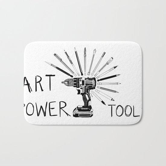 Art Power Tools Bath Mat