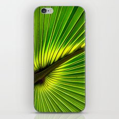 Green Burst iPhone & iPod Skin