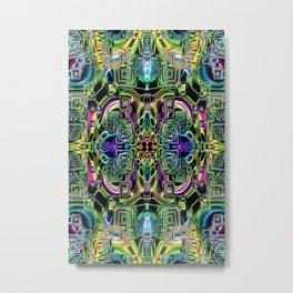 Ridged Patterns 2 A Metal Print
