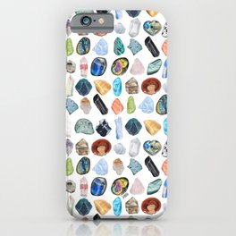 Illuminated Structure: Mineral Party 1 iPhone Case
