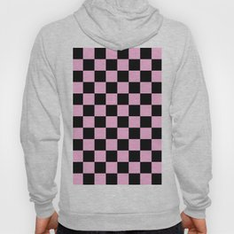 Checkered (Black & Pink Pattern) Hoody