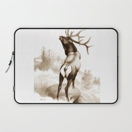 Elk In The Roar Laptop Sleeve