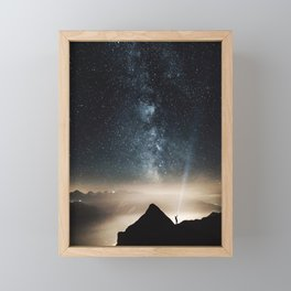 The Explorer Framed Mini Art Print